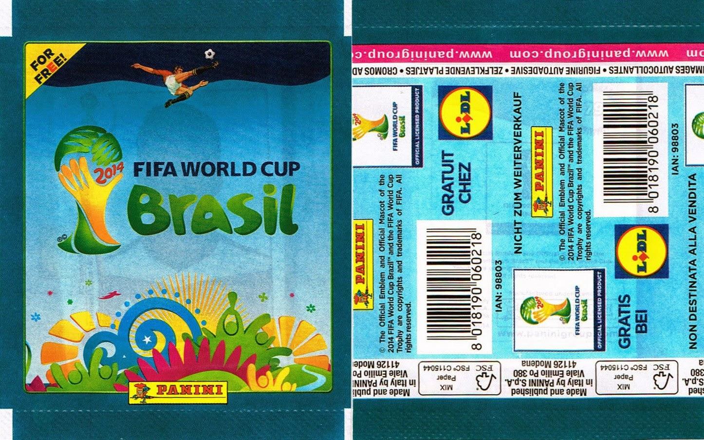 1X PACKET PANINI WORLD CUP 2014 BRASIL MÉXICO COCA COLA VERSION POCHETTE BUSTINA