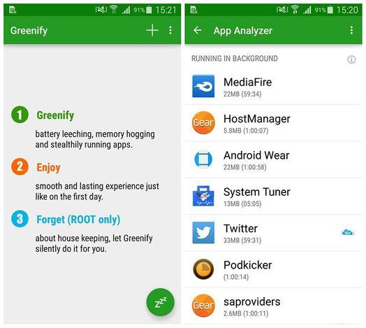 هناك الكثير من التطبيقات التي تقوم بالعمل بشكل افتراضي على هاتف سامسونج غالاكسي S5