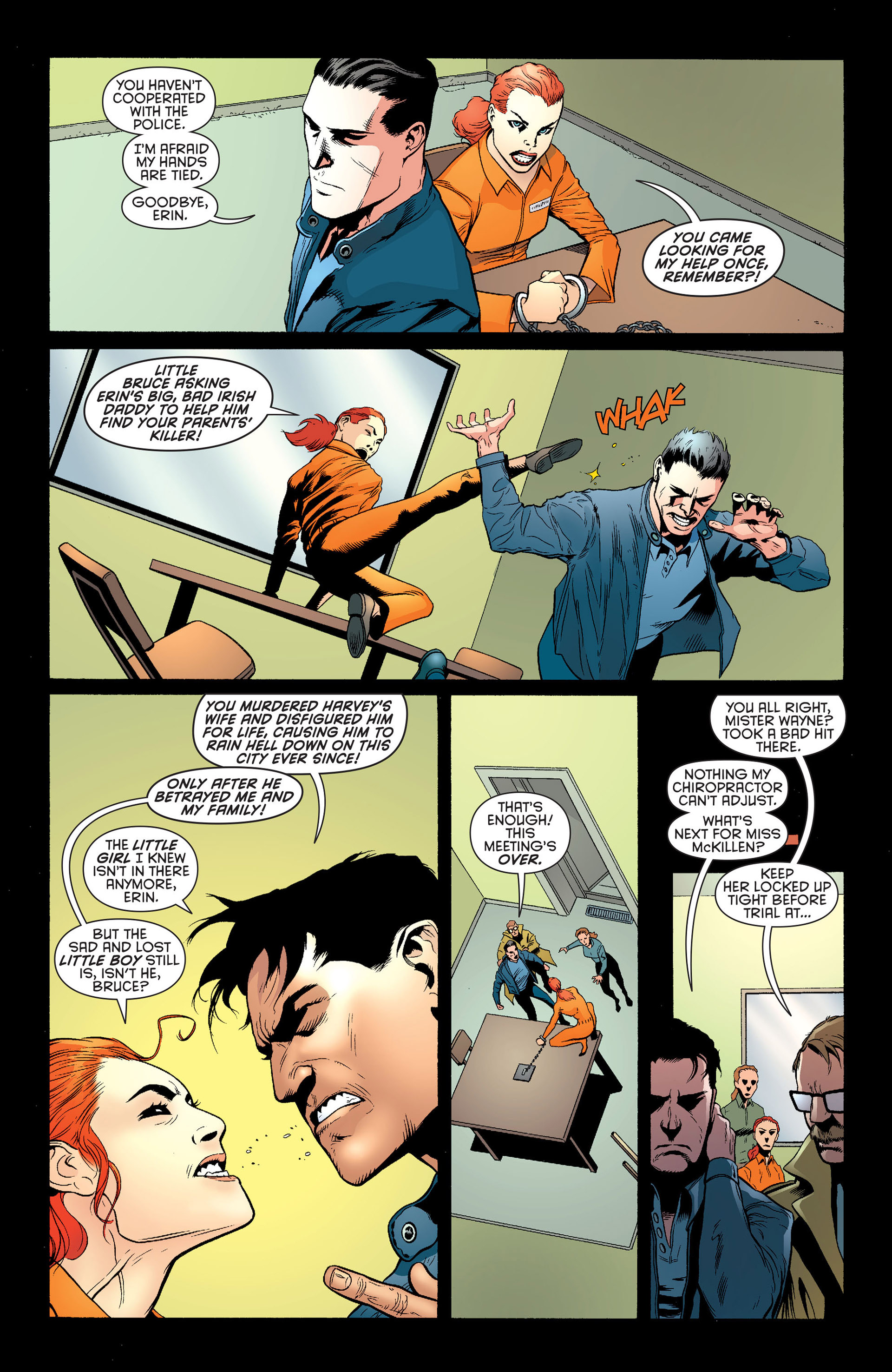 Read online Batman and Robin (2011) comic -  Issue #25 - Batman and Two-Face - 14