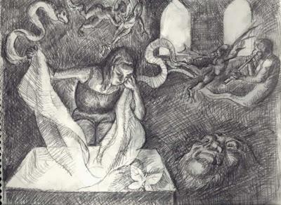 Genealogía de la misoginia occidental, el mito de Pandora, Ancile, Tomás Moreno