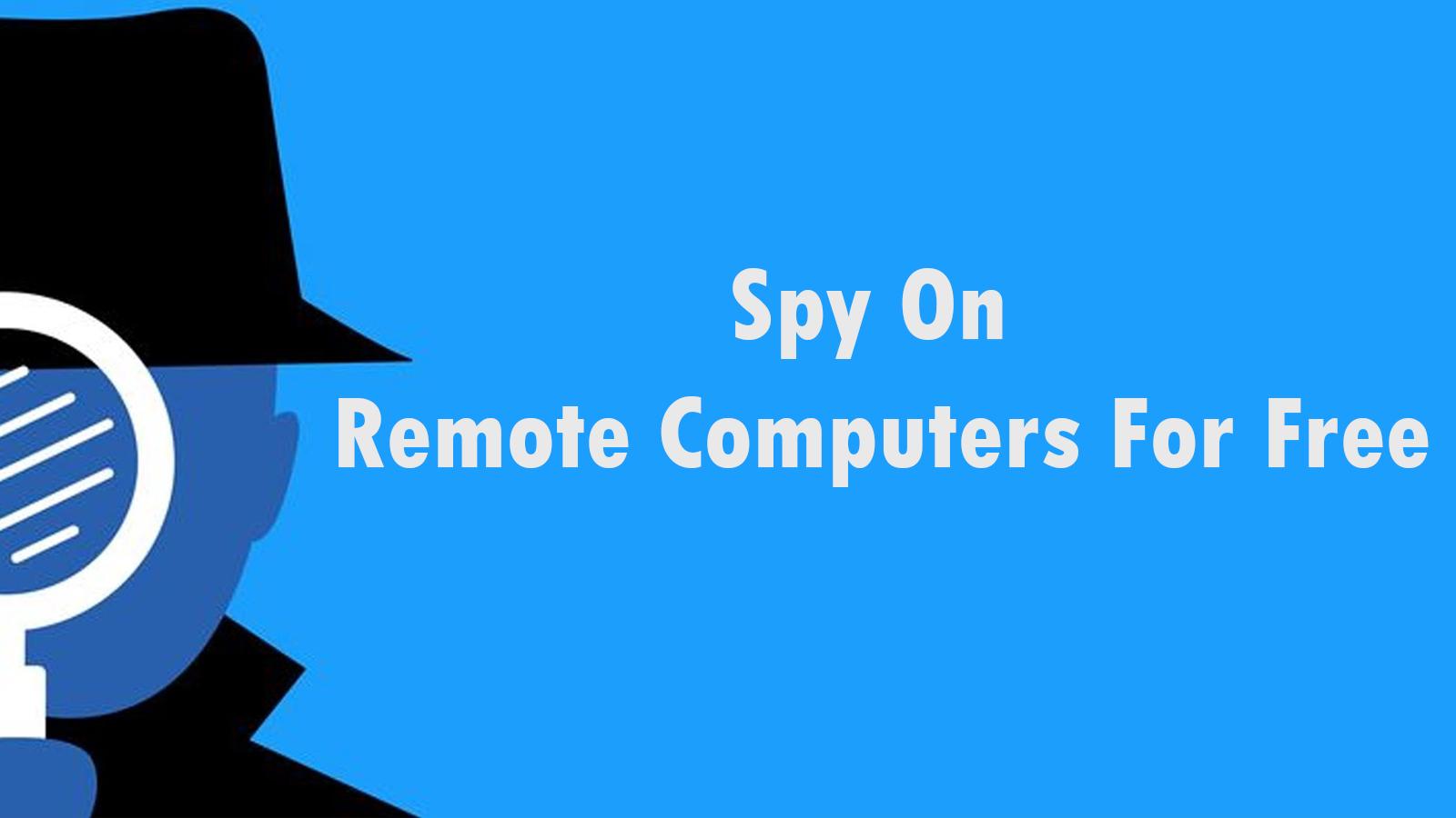 Monitor a Remote Computer