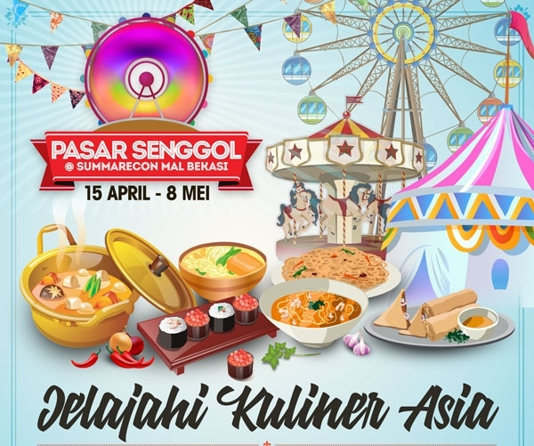 Pasar Senggol Mal Sumarecon Bekasi