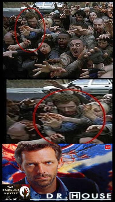 Dr. House no Walking Dead