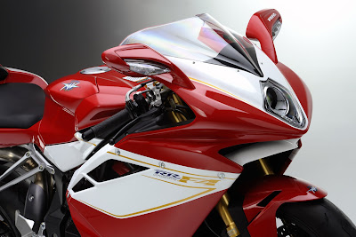 MV Agusta F4 RR close up shot
