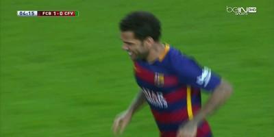 Copa Del Rey : Barcelona 6 vs 1 Villanovense 02-12-2015