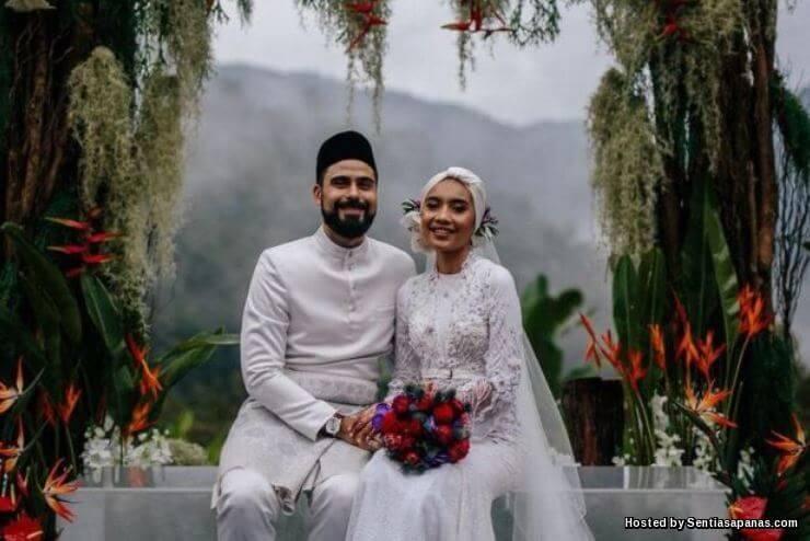 Gambar perkahwinan Yuna dan Adam