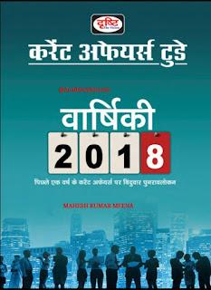 Drishti current affairs today Varshik 2018