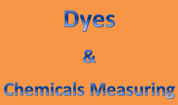 Dyes and Chemicals Measuring
