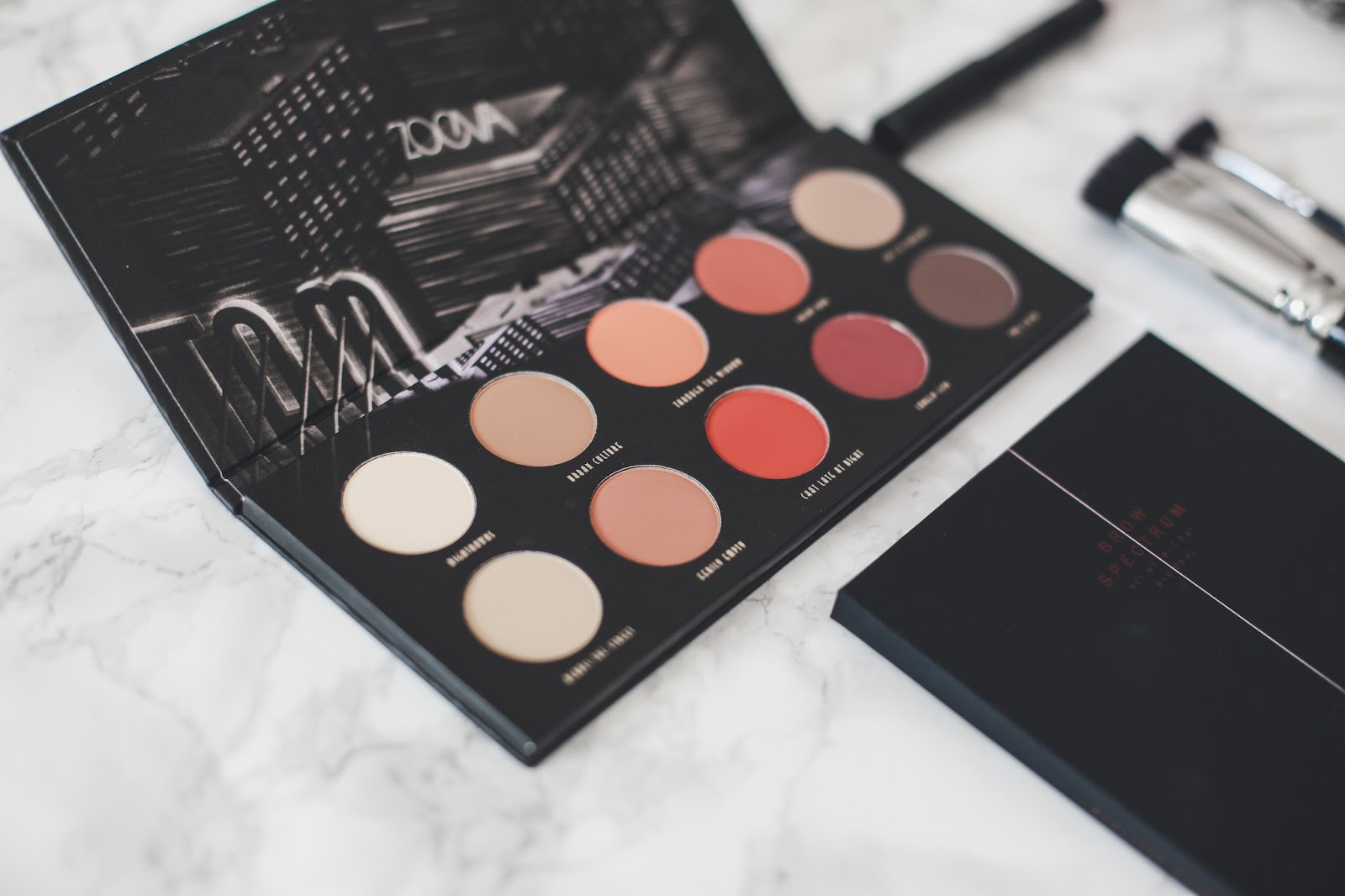 Matte Palette Zoeva Venus is naive blog beauté