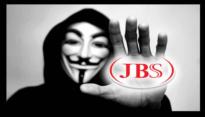 Anonymous ataca sistema da JBS e divulga informações da empresa