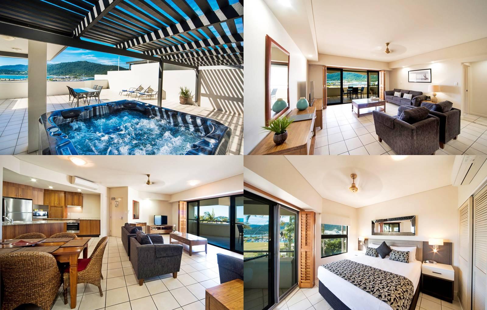 聖靈群島-艾爾利海灘-Airlie-Beach-住宿-推薦-Portside-Whitsunday-Luxury-Holiday-Apartments-飯店-旅館-酒店-民宿-公寓-市區-自由行-便宜-CP值-澳洲-Best-Hotel-Whitsundays