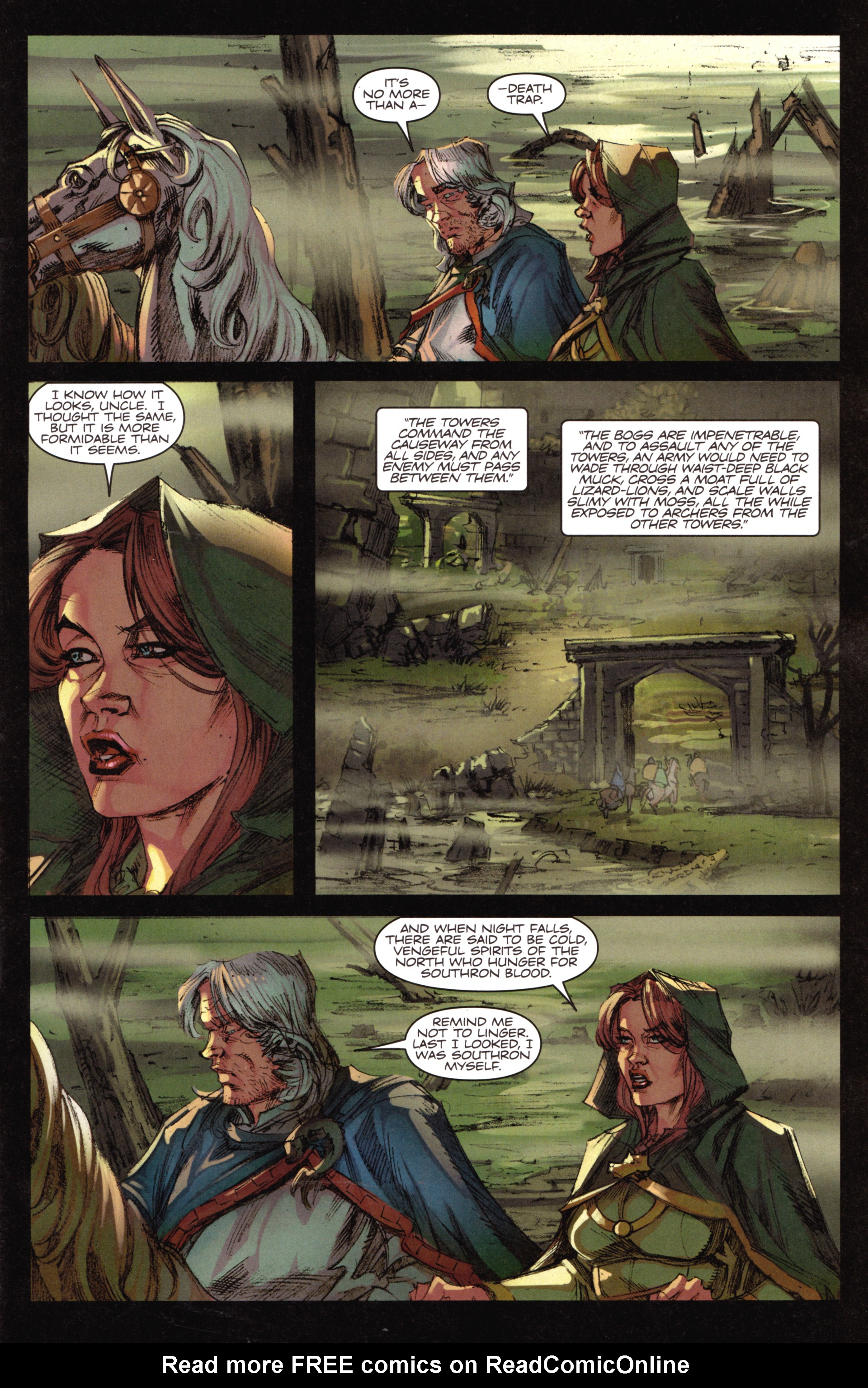 Read online A Game Of Thrones comic -  Issue #18 - 5