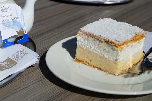 slovenie bled gâteau kremšnita