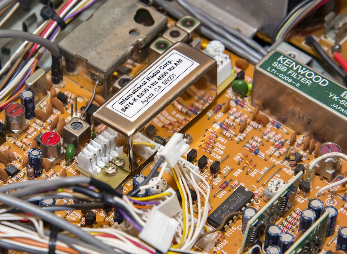 restoring the kenwood r 5000 receiver part 3 mount evelyn dx report