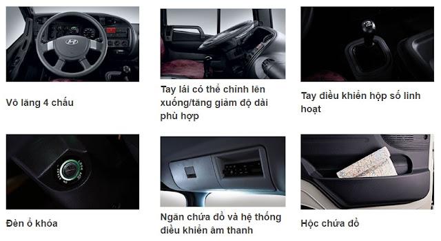 Nội thất Hyundai HD210