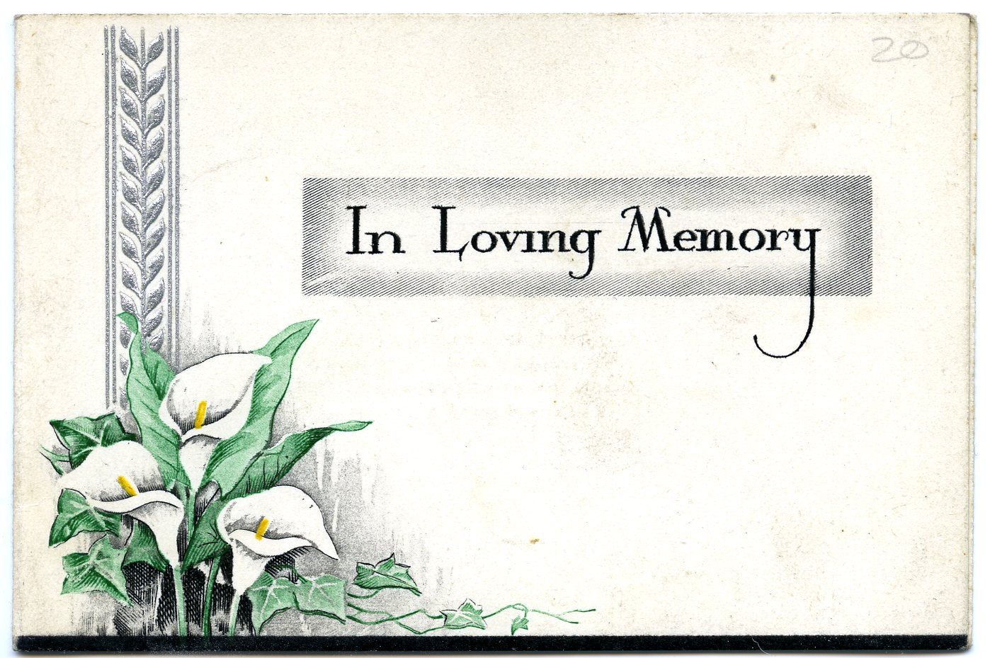 The graveyard detective in memoriam cards 4 for In memoriam cards template