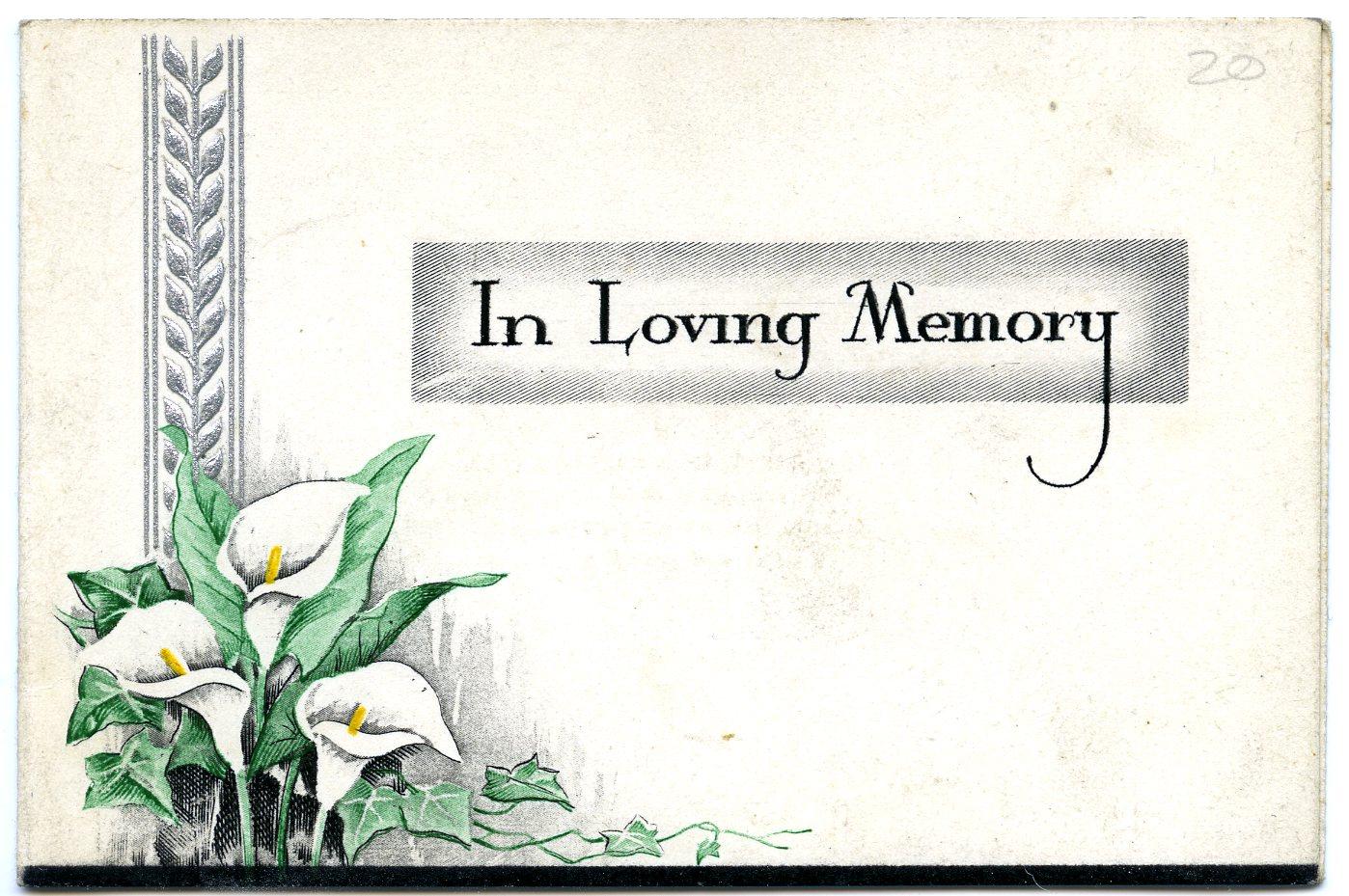 Magnificent In Memoriam Template Pictures - Example Resume Ideas ...