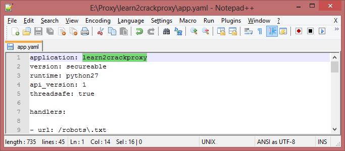 Google Proxy Server