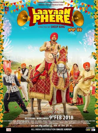 Poster Of Punjabi Movie Laavaan Phere 2018 Full HD Movie Free Download 720P Watch Online
