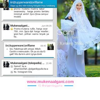 20 Pusat Grosir Mukena Al Gani, Suplier Mukena Al Gani, Distributor mukena al gani, Jual mukena al gani, Mukena al gani by yulia, Grosir Mukena algani, Mukena Al gani Murah, Mukena Al Gani Tanah Abang, Jakarta