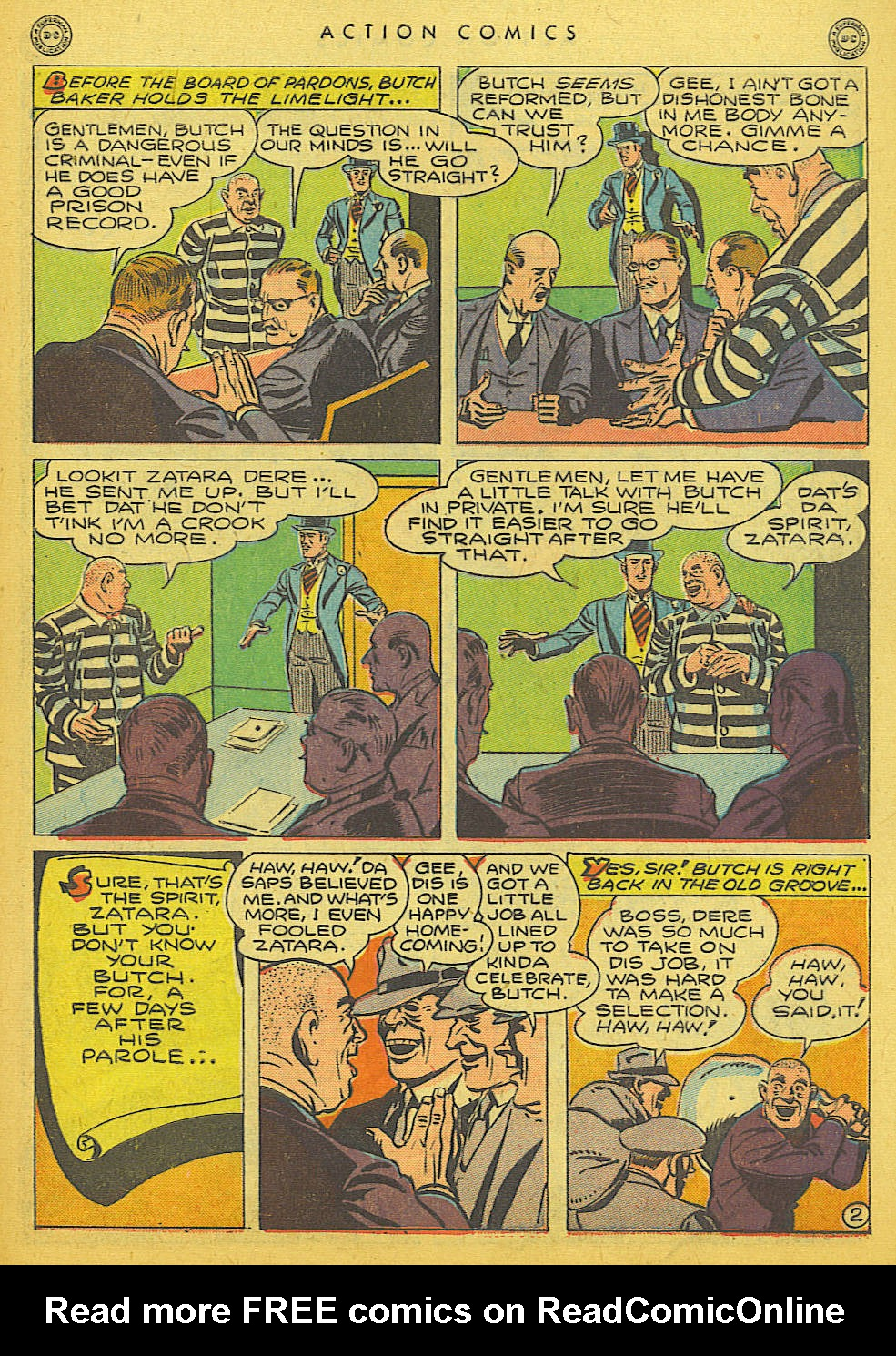 Read online Action Comics (1938) comic -  Issue #86 - 43