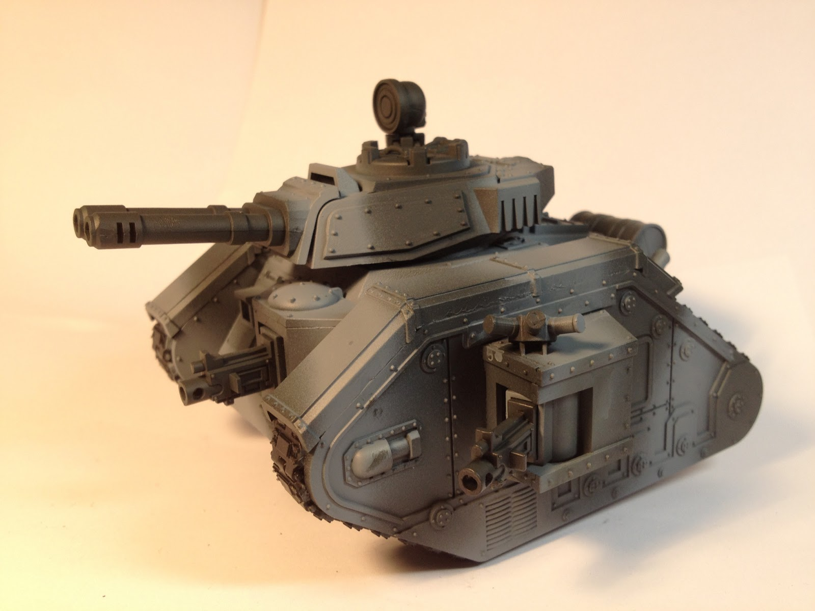 Death Korps of Krieg Leman Russ WIP Left Side