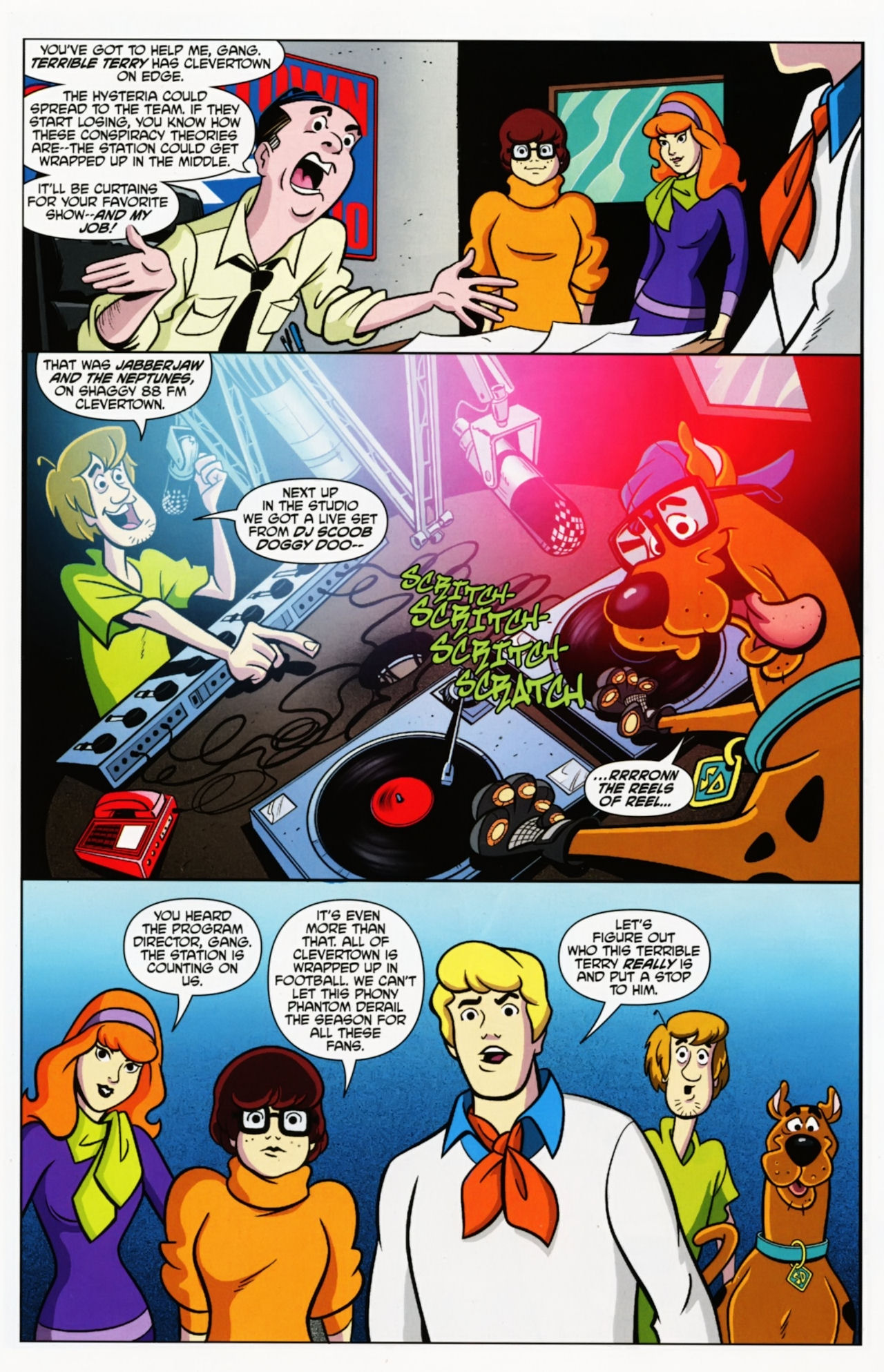 Read online Scooby-Doo: Where Are You? comic -  Issue #7 - 6