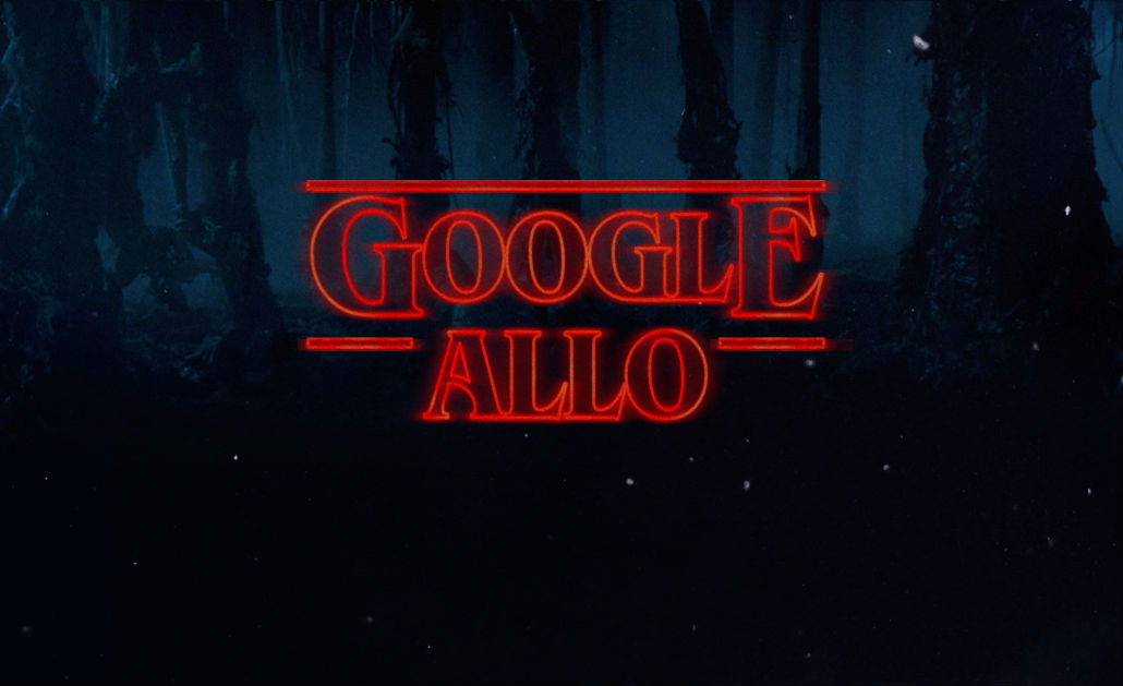 Google Allo Gets 'Stranger Things' Sticker Pack