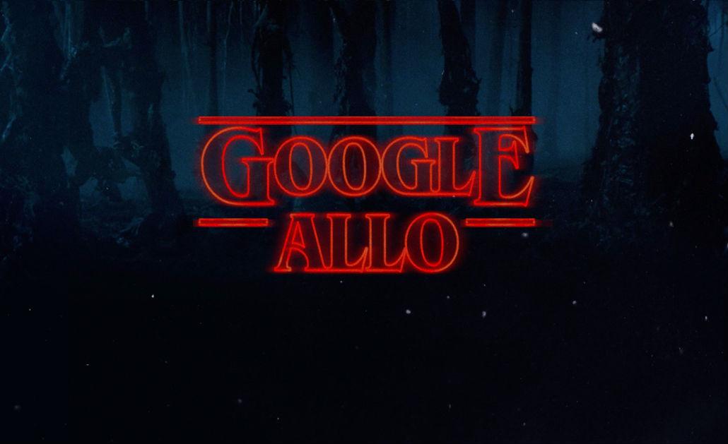 Google Allo Gets 'Stranger Things' Sticker Pack