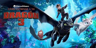 Ver Pelicula Como entrenar a tu dragón 3 (Español Latino) Online