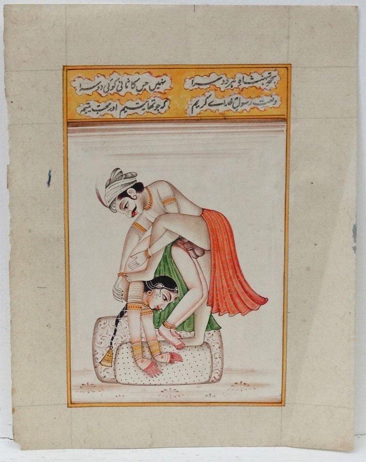 Indian Ratirahasya Erotic Art