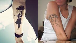 foto 3 de tattoos inspirados en obras de arte