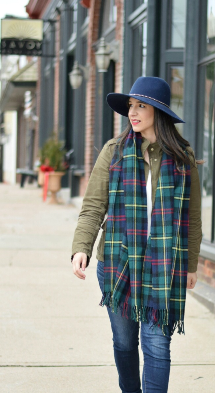Fedora and Scarf for Winter: Affordable Target Fashion