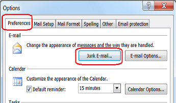 Block Email Sender In Outlook 2007