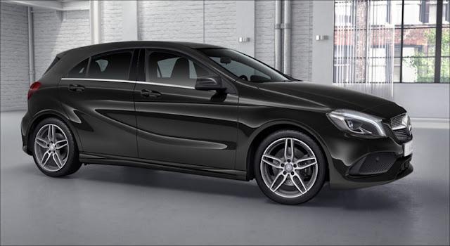 Ngoại thất Mercedes A250 2019 thiết kế thể thao manh mẽ