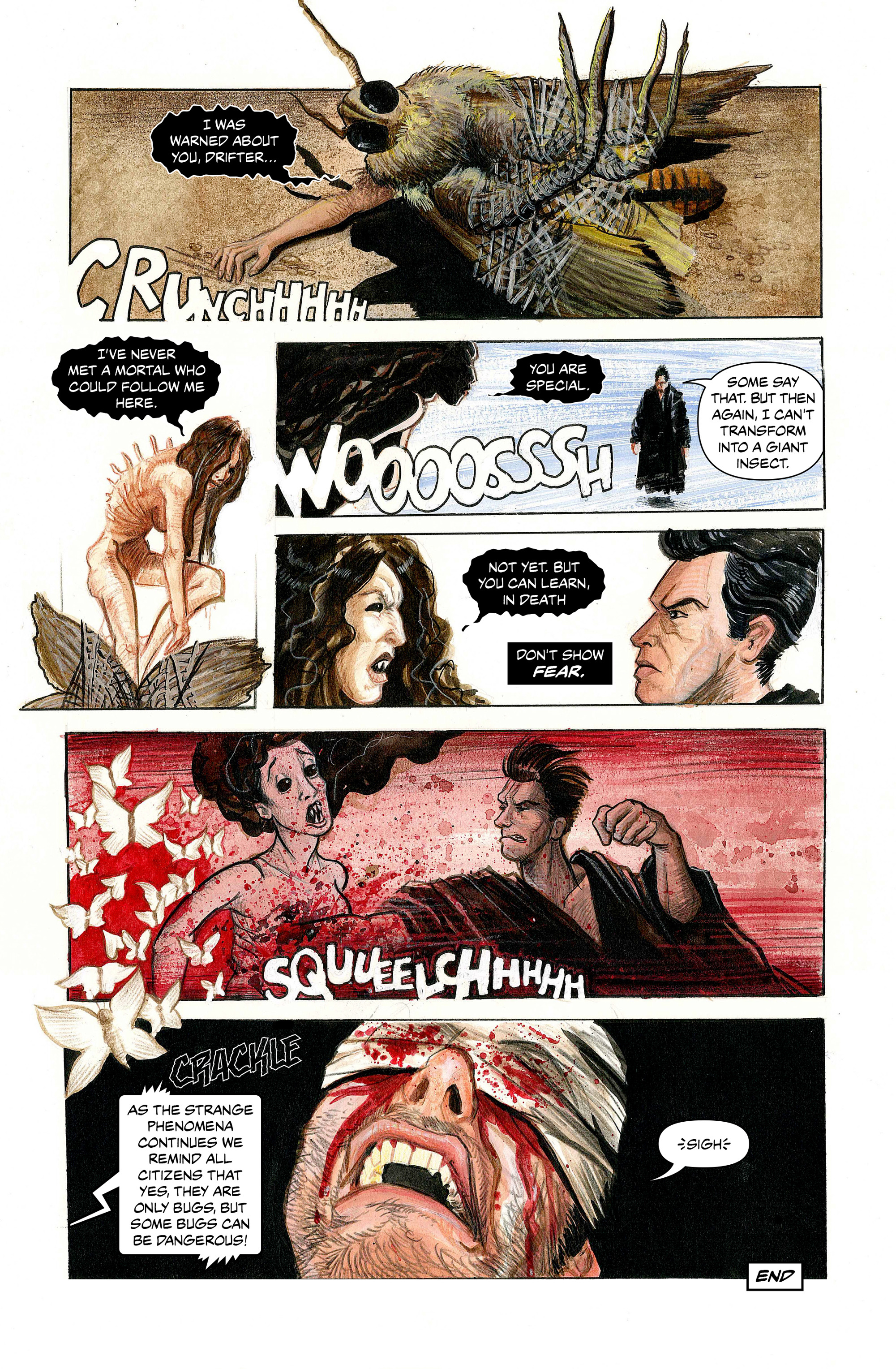 Read online 100% Biodegradable comic -  Issue #14 - 21