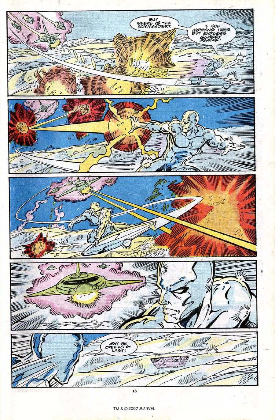 Read online Silver Surfer (1987) comic -  Issue #24 - 15