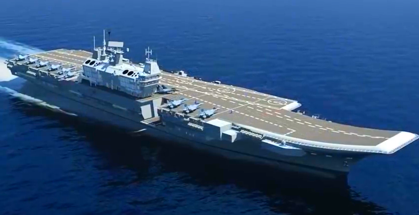 Vikrant Class Indian Indigenous Aircraft Carrier Iac