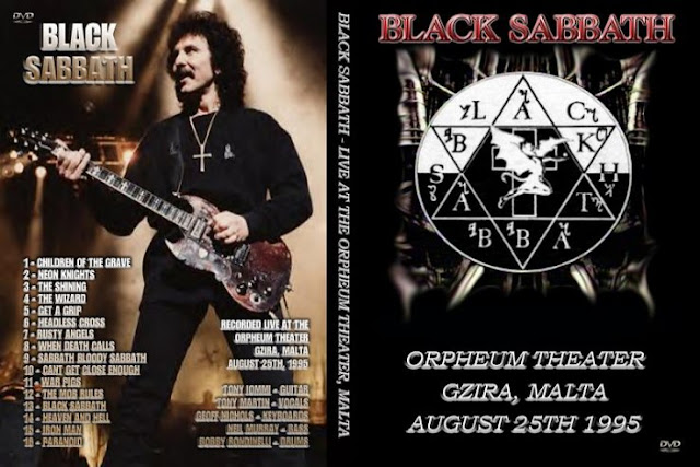 Black Sabbath - Forbidden Tour The Orpheum 1995 DVD