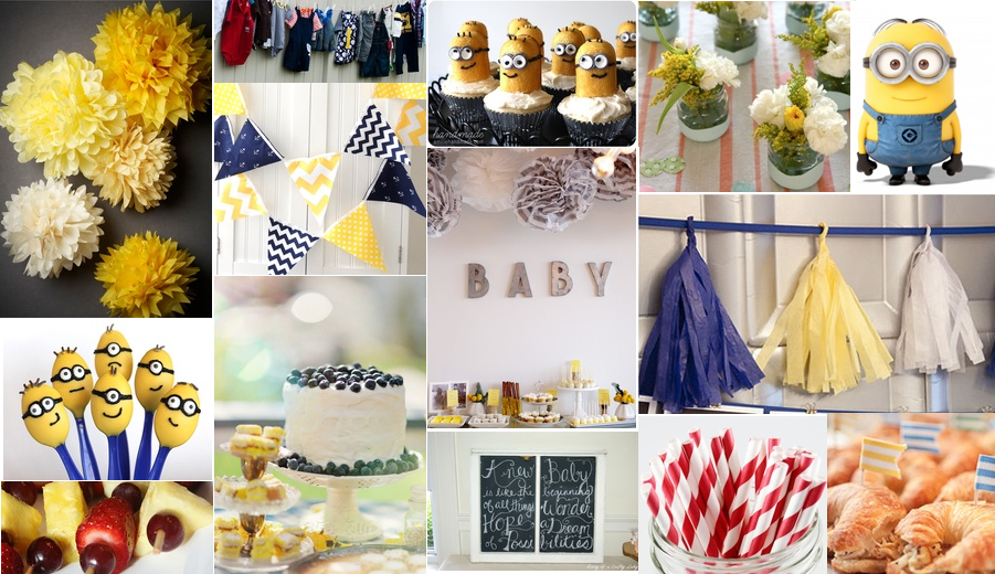 Minions Baby Shower Theme Baby Shower Ideas