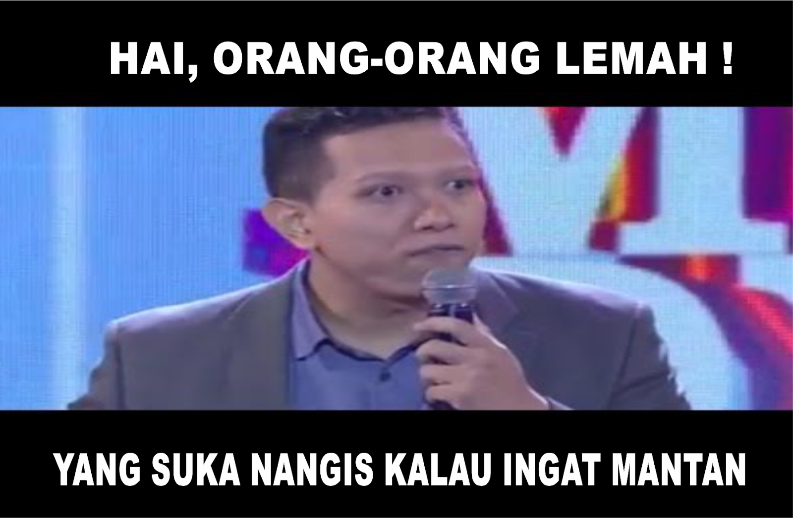 """16 Meme Lucu """"Hai Orang Orang Lemah"""" Khas Bang Coki Anwar"""