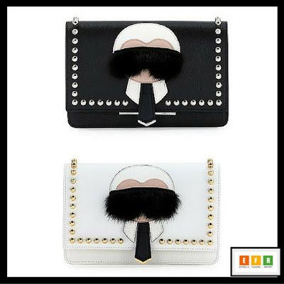 Karlito Fendi bags-Fendi-Karl Lagerfeld-Handbags