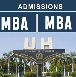 Hyderabad University(UoH) MBA Admissions for 2019