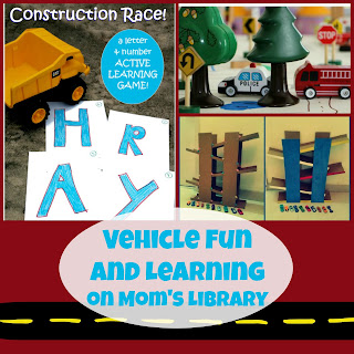 Vehicle Fun and Learning on Mom's Library