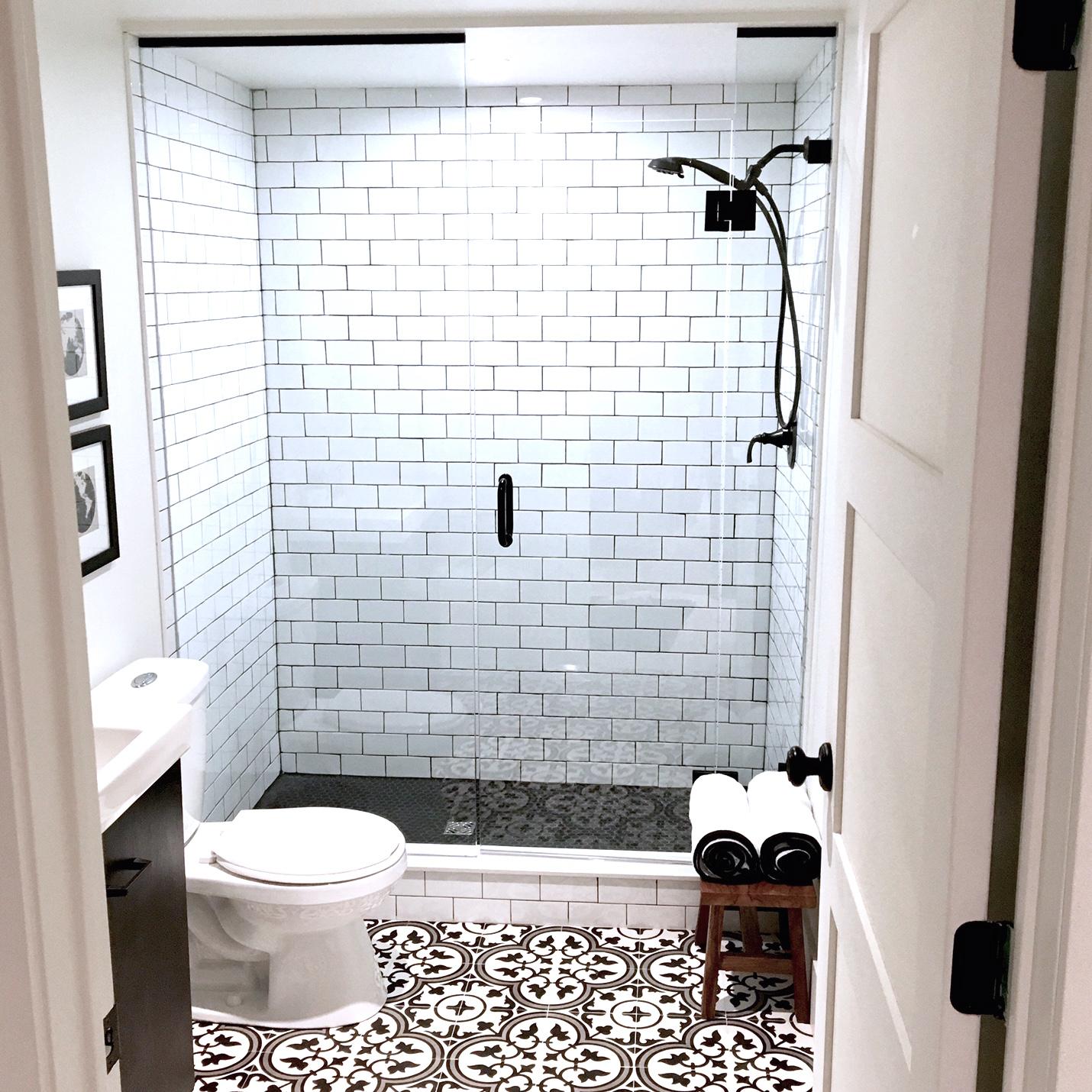 Bathroom Reveal Gastro Pub Style Bathroom Harlow