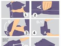 Bagaimana Cara Melipat Baju