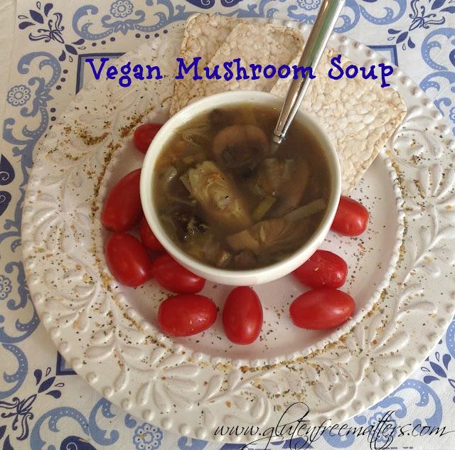 Mushroom Artichoke Soup