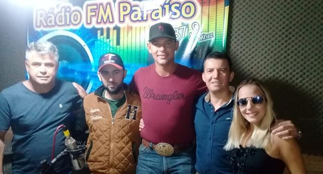 Iretama: Campeão Mundial de Laço participa de programa na Rádio FM Paraíso