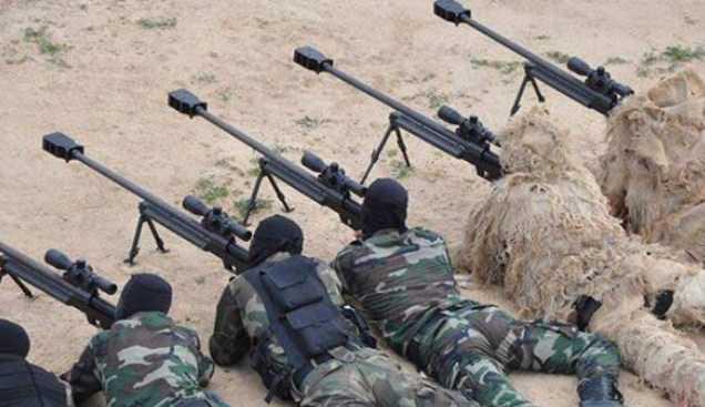 Pasukan Elit Iran Terima Senapan Sniper AM-50 Sayyad Baru