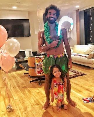 محمد صلاح, على طريقة ال ماوى, محمد صلاح يحتفل بعيد ميلاد ابنته, مكة,